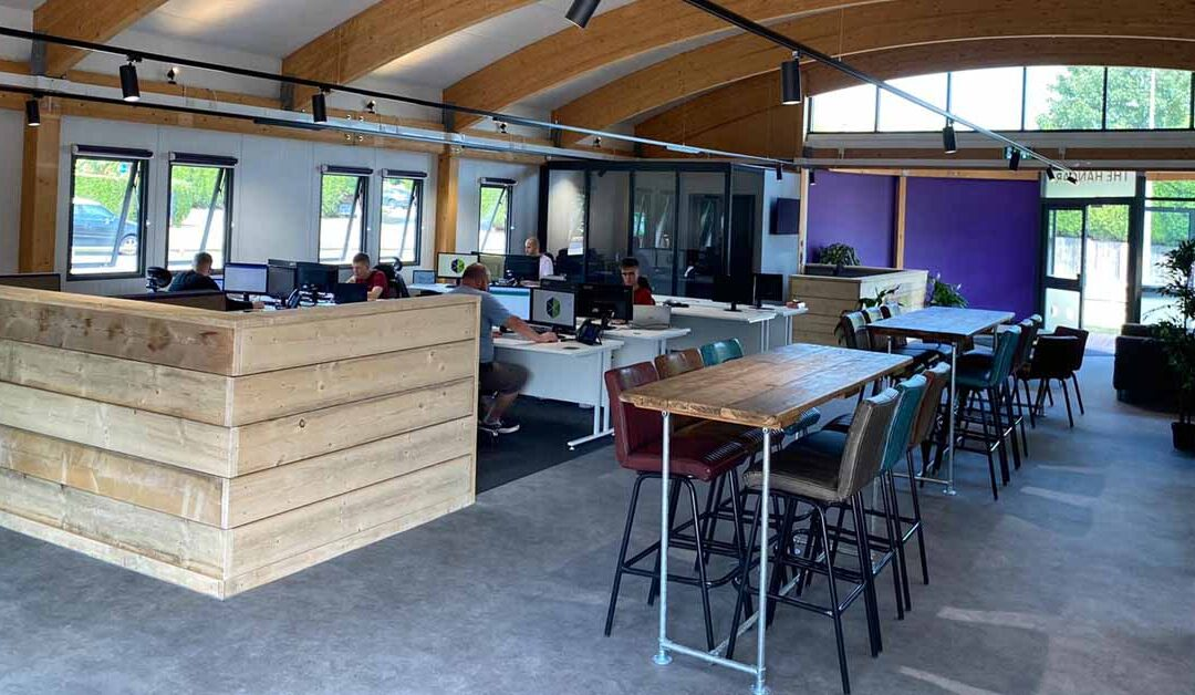 A Fresh Perspective on Office Space